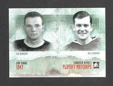 ITG Forever Rivals Playoff Matchups Teeder Kennedy Bill Durnan Card Look! #PM-07