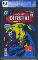 Detective Comics 475 (DC) CGC 9.8 White Pages Facsimile Edition Reprint