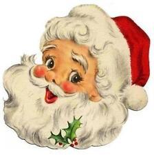 Christmas # 17 - 8 x 10 Tee Shirt Iron On Transfer Santa 3