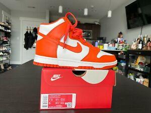 Nike Dunk High Orange Blaze Syracuse Women's Size 7.5W / 6M  ( DD1869-100)