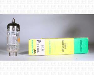 Amperex 6EJ7 / EF184 Vacuum Tube Made In Holland NOS +Box