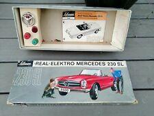 Schuco REAL 5500 Elektro Mercedes 230 SL Car ONLY EMPTY BOX   Selten / Rare
