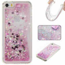 Bling Dynamic Liquid Glitter Quicksand Soft TPU Shockproof Case Cover For Phone