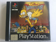 The Simpson's Wrestling for Playstation 1 - Complete In Original Case - AUS PAL
