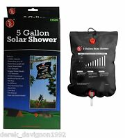 5 Gallon Outdoor Camping Hiking Solar Showers Energy Heated Camp Solar Shower