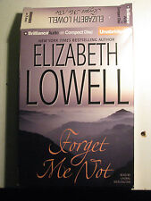 Forget Me Not by Elizabeth Lowell (2007, CD, Unabridged)