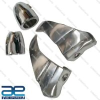 LAMBRETTA GP 150 200 SHARK TEETH AND LEGSHIELD BEEDING CLUMPS PAIR