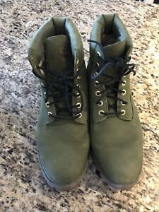 Dj Khalid Money Timberlands ~ Suede ~ Size 12 Worn Once