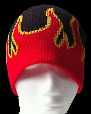 WINTER TOQUE TUQUE FLAMES FIRE HOT SKULLS BEANIE HAT SKATEBOARDING UNISEX HATS