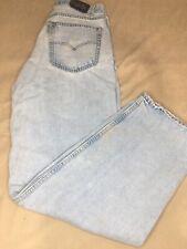 Vintage Levis SilverTab Baggy Fit Blue Denim Jeans Levi's Mens 33Wx34L