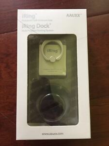 IRing Dock Set for Smartphones/Tablets with iRing Hook and iRing Dock