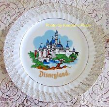 Vintage Disneyland Magic Kingdom Plate Sleeping Beauty Castle Souvenir Wall Mint