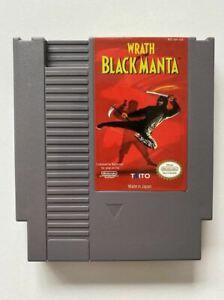 Wrath of the Black Manta NES VGC NTSC-U/C