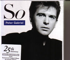 3 CD (NEU!) . PETER GABRIEL - So + Live in Athens 1987 (25th Anniversary mkmbh