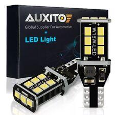 2x AUXITO T15 W16W 921 912 955 6000K Xenon White LED Canbus Reverse Light Bulb
