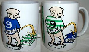 Funny Wee On Scottish Scotland Tea Mug Football Glasgow Old Firm Shirt Rivalry
