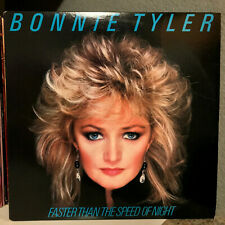 """BONNIE TYLER - Faster Than The Speed Of Night (38710) 12"""" Vinyl Record LP - EX"""