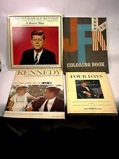 JFK MEMORABILIA HUGE PERSONAL COLLECTION MAGAZINES, NEWSPAPERS, BOOKS 25+ITEMS