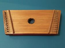 USSR Soviet Ukrainian Tsymbaly stringed percussion musical instrument. Old Toy