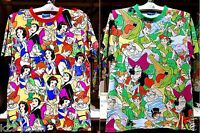 Now On Sale! Tokyo Disney Resort T-Shirts Snow White Peter Pan JAPAN TDR