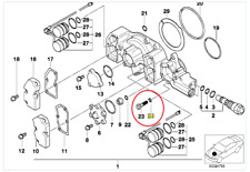 GENUINE BMW E36 M3 Vanos Filtre & JOINTS (Kit) UK