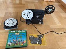 Bolex 18-3 TC Multispeed Projektor + Max&Moritz 5. Streich + diverses Zubehör