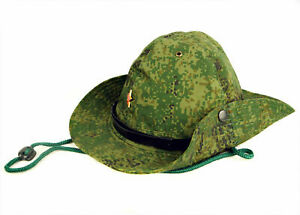 Russian Boonie Cap Hat Digital Flora Camo Afghanistan War Type Panama