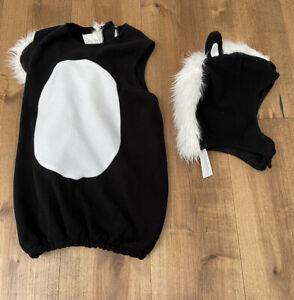 POTTERY BARN KIDS Halloween Skunk Costume size 4 6