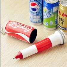 5Pcs Novelty Child Telescopic Ball Point Drink Can Ballpoint Pen Stationery Gift