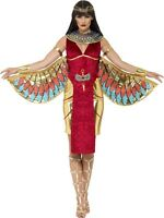 SALE Red Egyptian Goddess Adult Isis Queen Smiffy's Ladies Fancy Dress Costume
