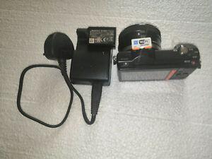 Sony Alpha A5000 Digital Camera 16-50mm f/3.5-5.6 PZ Zoom Lens. ShutterCount 335