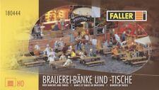 FALLER 180444 - set 20 tavoli e 40 panche  - scala 1/87