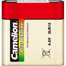 1 Pile plate super alcaline CAMELION 3LR12