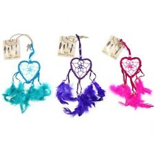 Small Heart Shaped Dreamcatcher from Bali - Choice of colours