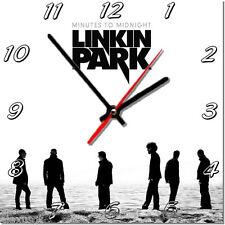 Sveglia da parete, orologio LINKIN PARK MDF wall clock wood,bar, pub