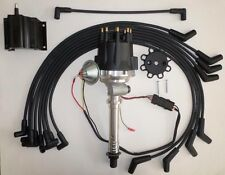 Small Cap CHEVY CORVETTE Tach Drive 396-427-454 BLACK HEI Distributor,Plug wires