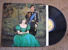 Princess Diana Queen's Silver Jubilee Trust Royal Wedding Record lp VG++