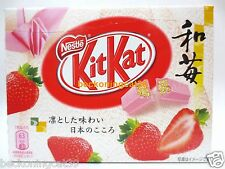 ONLY SELL AIRPORT Nestle Kit Kat Chocolate Wa-Ichigo Strawberry 3 bar 1 bx JAPAN