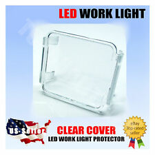 3x3 PROTECTIVE COVER CLEAR LENS MOTORCYCLE OFFROAD CAMPING FISHING LED LIGHT