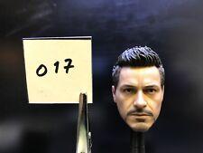 Hot Toys Tony Stark Armor Test Head Sculpt Iron Man 3