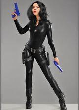 Womens Halloween Vampire Underworld Style Adult Fancy Dress Costume Black