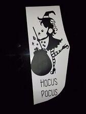 Halloween Inspired Vinyl Sticker for Wine Bottle - Witch 1 Hocus Pocus