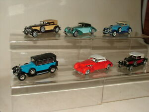 MATCHBOX MOY TOYS DIECAST BUNDLE OF 6 CARS ROLLS ROYCE PACKARD HISPANO SUIZA ETC