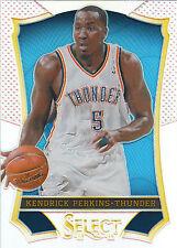 KENDRICK PERKINS 2013-14 Panini Select Basketball Prizm Card #11 Thunder