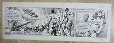 PAGINA TIRA ORIGINAL AXA DAILY STRIP ORIGINAL ART ENRIC BADIA ROMERO - 1677