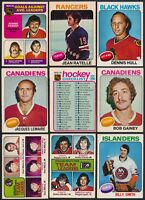 1975-76 O-Pee-Chee Complete Your Set Cards #201- 394 (see list) $0.99- $6.00
