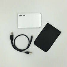 External USB 2.0 320GB Hard Drive Portable  HDD +Free Protective Pouch SILVER