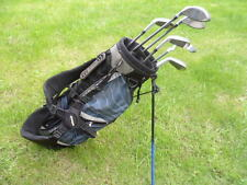 Rogue Junior golf clubs - graphite - with  dual strap bag