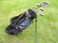 Rogue Junior golf clubs - graphite - with  dual strap bag