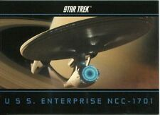 Star Trek The Movie 2009 USS Enterprise NCC-1701 Chase Card E5